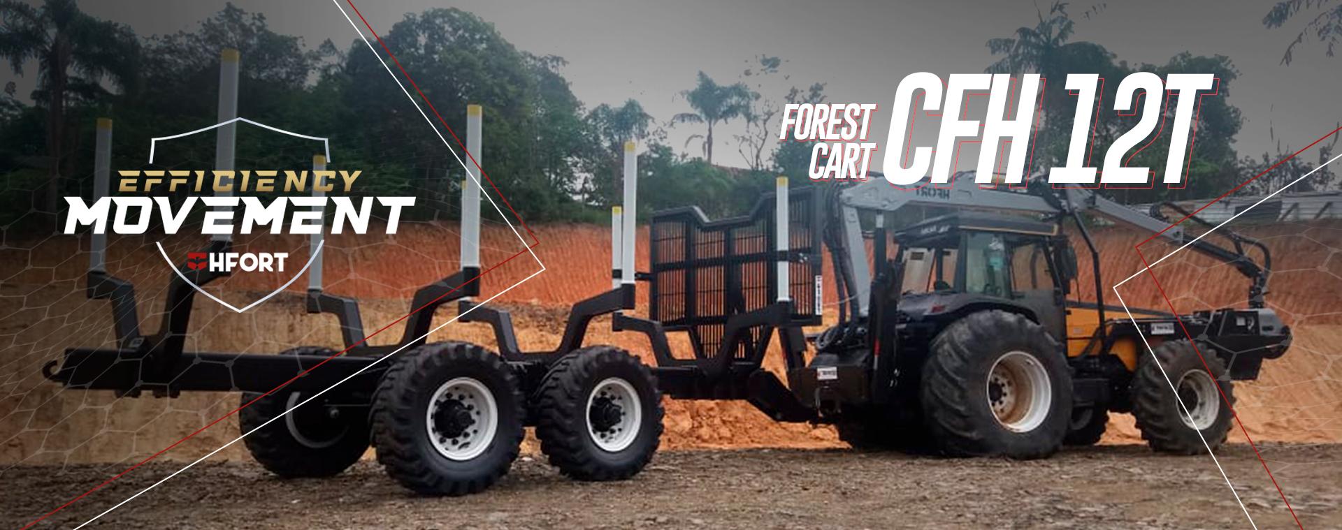 Carreta Florestal CFH 12T HFort