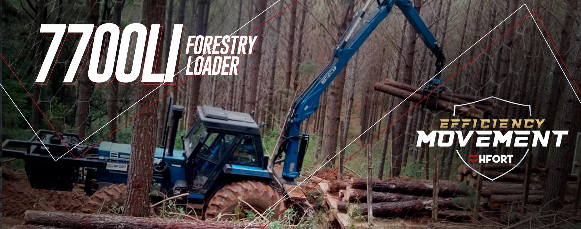 Carregador Florestal CFH 7700LI HFort
